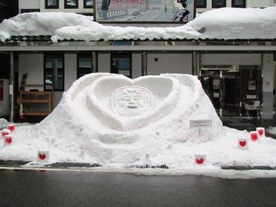 /// 第9回ゆむら灯火の景 雪像コンテスト!あなたも投票してみませんか ///_f0112434_2173124.jpg
