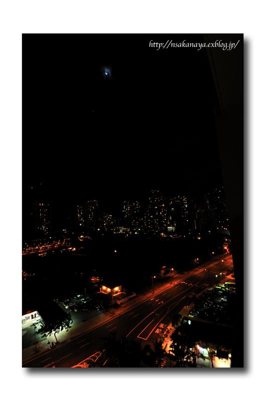 さかなや家族 旅行 in Hawaii 〜 2日目 夜 〜 Hotel からの 夜景_d0069838_8551868.jpg