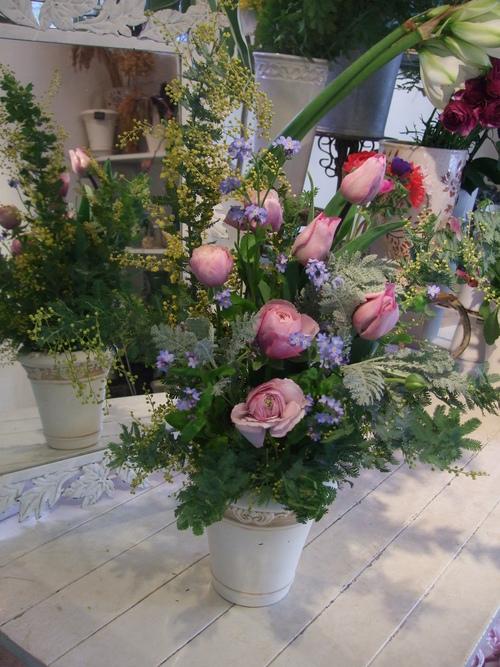 オークリーフ花の教室(加田さんの作品)_f0049672_1728193.jpg