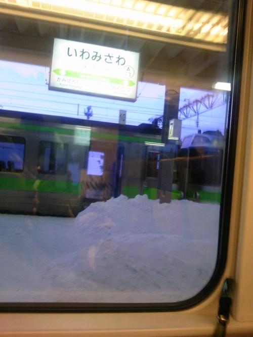雪で遅れる_b0097073_17304939.jpg