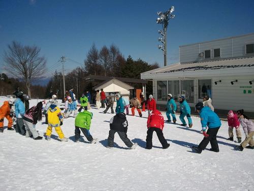 富士見町小中学生スノーボード体験学習 _b0203378_2126430.jpg