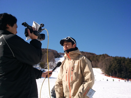 富士見町小中学生スノーボード体験学習 _b0203378_21284794.jpg