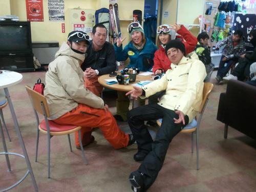 富士見町小中学生スノーボード体験学習 _b0203378_21291689.jpg