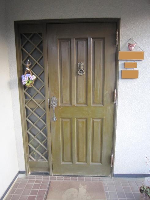 玄関廻りの改装_b0078597_9152564.jpg