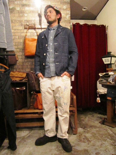 "春物""FIDELITY DENIM 4PATCH JK\"" ご紹介_f0191324_9261654.jpg"