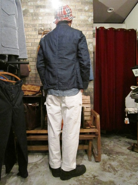 "春物""FIDELITY DENIM 4PATCH JK\"" ご紹介_f0191324_9262534.jpg"