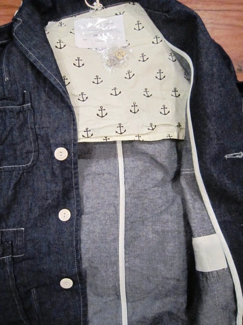 "春物""FIDELITY DENIM 4PATCH JK\"" ご紹介_f0191324_9264499.jpg"