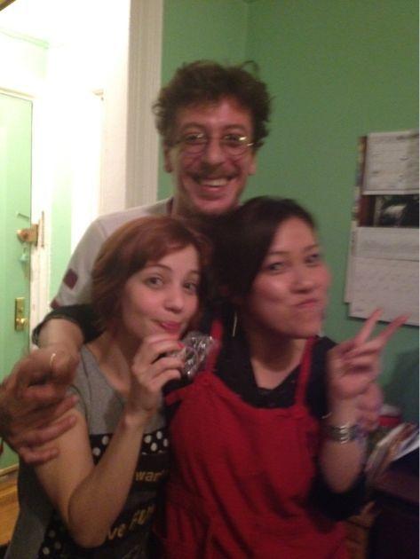 Viviane & Ze ブラジリアン お別れつみれ鍋パーティー_a0150139_4303324.jpg