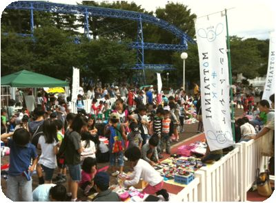 MOTTAINAIフリーマーケット開催報告@としまえん/あきる野ルピア_e0105047_17472968.jpg