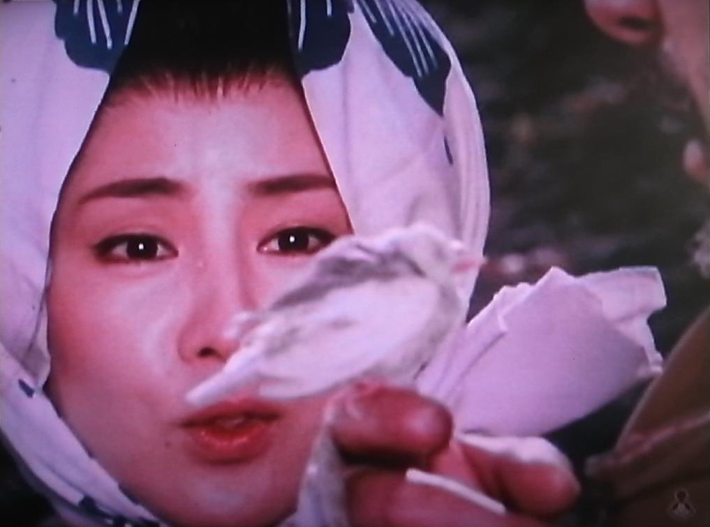 新座頭市『雪の別れ路』ゲスト:吉永小百合 監督:勝新太郎[1]_f0134963_8483329.jpg