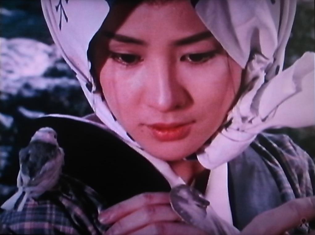 新座頭市『雪の別れ路』ゲスト:吉永小百合 監督:勝新太郎[1]_f0134963_8583418.jpg