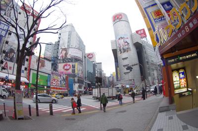 2月14日(火)今日の渋谷109前交差点_b0056983_1643841.jpg