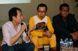 インドネシアで俳優歴15年の鈴木伸幸さん@毎日新聞