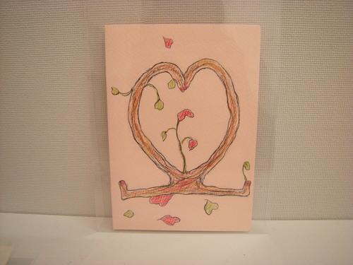 『大人のバレンタインカード』として再展示!!_c0131063_211927.jpg