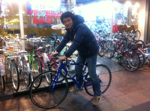 自転車屋 神戸 中央区 自転車屋 : 前のギアが Mistral よりか少し ...