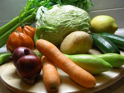 Minestrone di verdure 緑のミネストローネ ☆ Portico_b0246303_111439.jpg