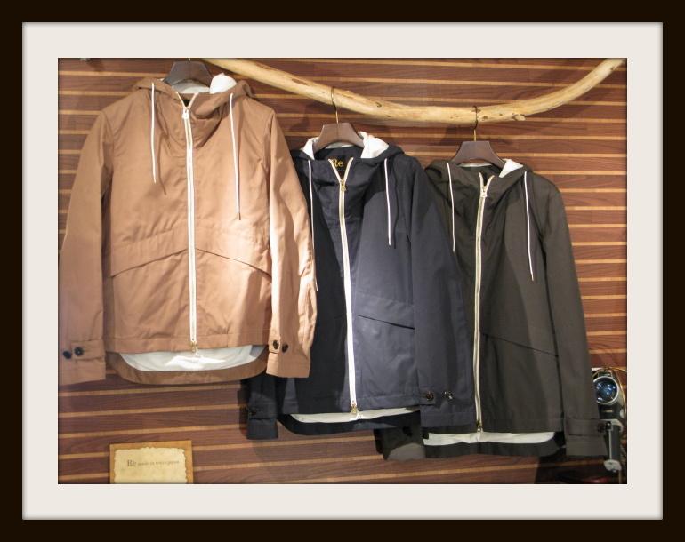 ◆Wax Cotton Hooded Blouson_e0142928_22535075.jpg