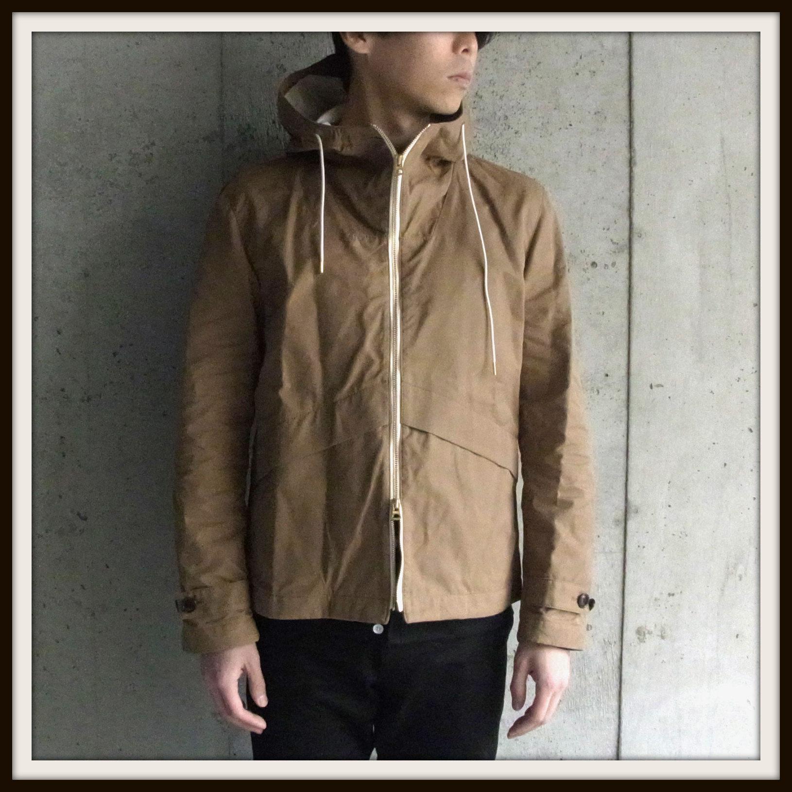 ◆Wax Cotton Hooded Blouson_e0142928_22581254.jpg