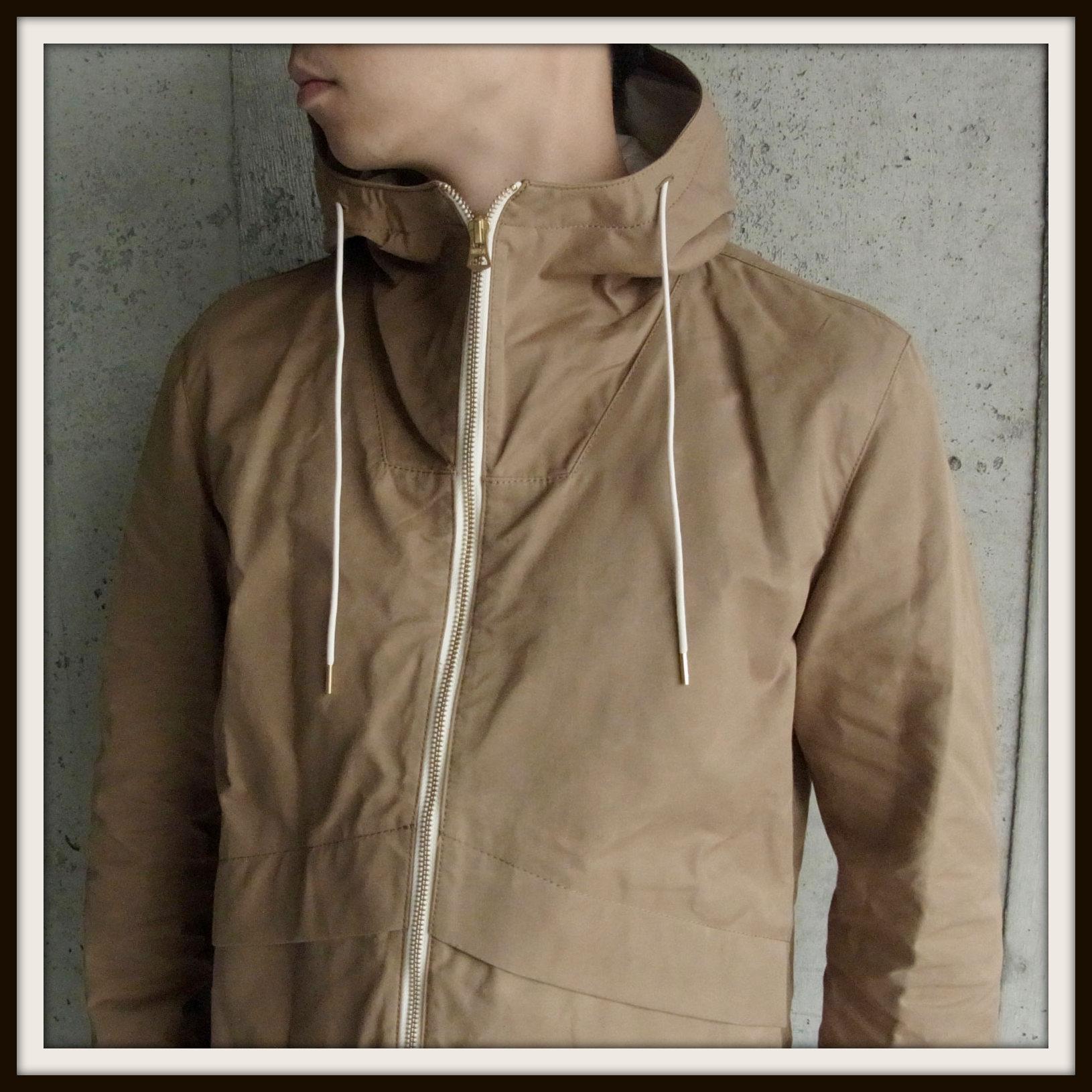 ◆Wax Cotton Hooded Blouson_e0142928_2302523.jpg