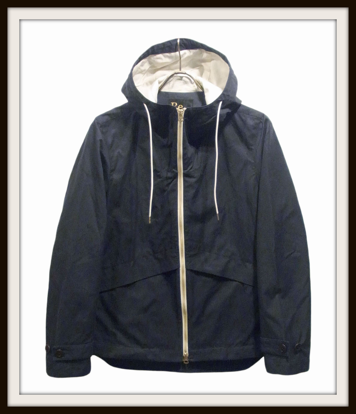 ◆Wax Cotton Hooded Blouson_e0142928_2344167.jpg