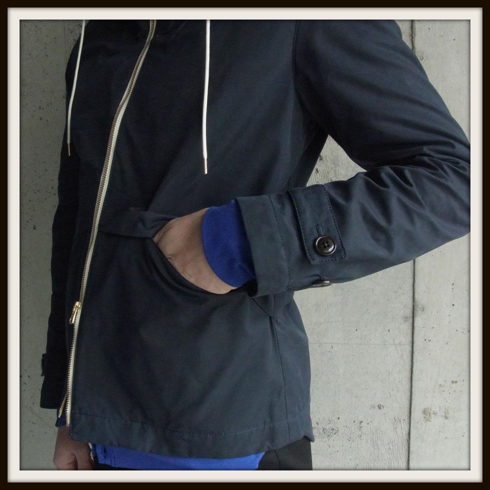 ◆Wax Cotton Hooded Blouson_e0142928_2351065.jpg