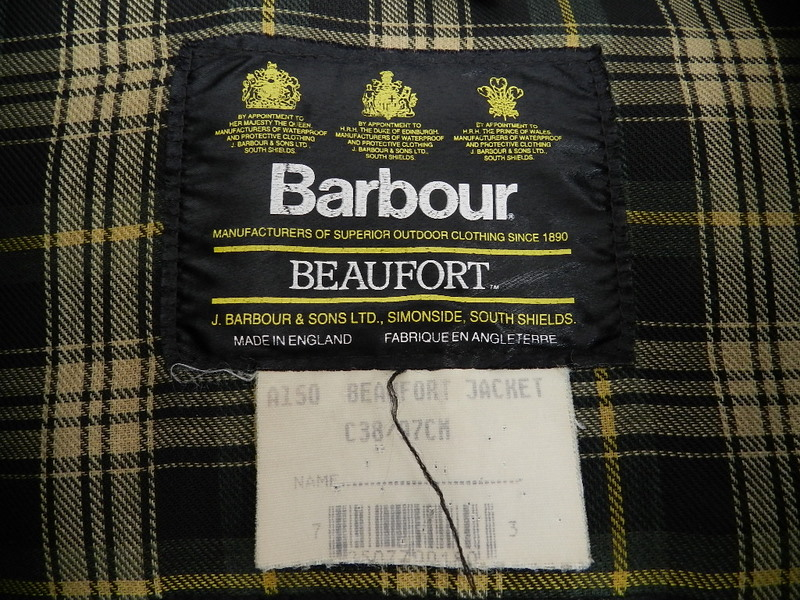 my Barbour beaufort _f0226051_1241378.jpg