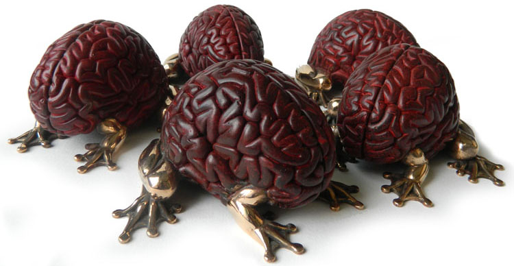 Bronze Jumping Brain Japan Red Edition by Emilio Garcia_e0118156_1215178.jpg