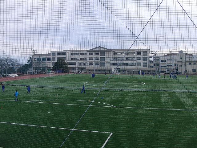 富士市立高校野球部の冬の練習風景_f0141310_7545812.jpg