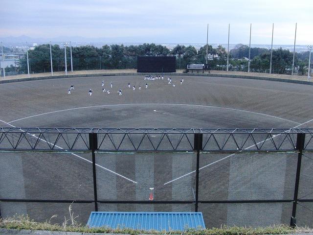 富士市立高校野球部の冬の練習風景_f0141310_75606.jpg