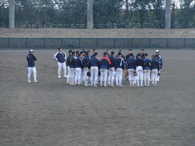 富士市立高校野球部の冬の練習風景_f0141310_7575484.jpg