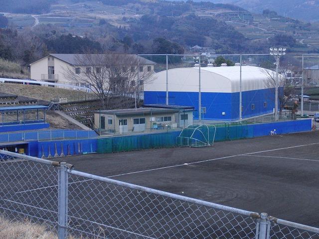 富士市立高校野球部の冬の練習風景_f0141310_758970.jpg