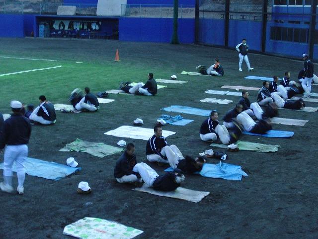 富士市立高校野球部の冬の練習風景_f0141310_804425.jpg