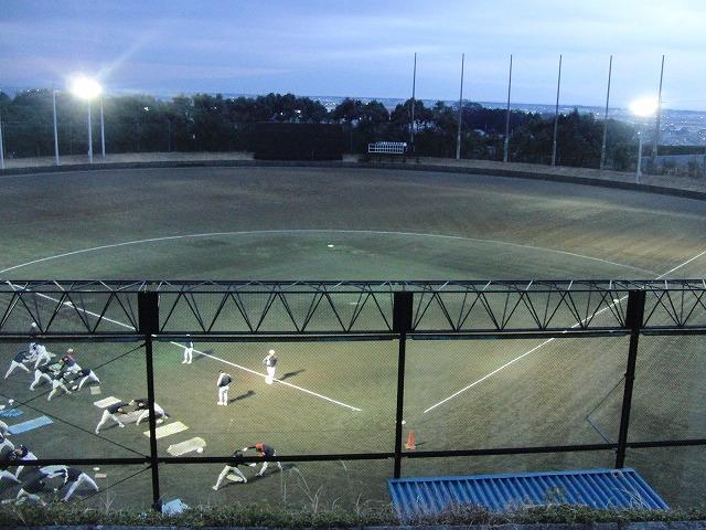 富士市立高校野球部の冬の練習風景_f0141310_805685.jpg