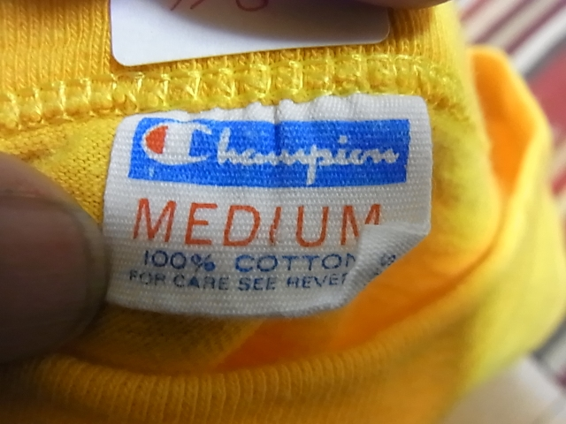 アメリカ仕入れ情報#6 70'S&80'S champion T-shirts_c0144020_17465589.jpg