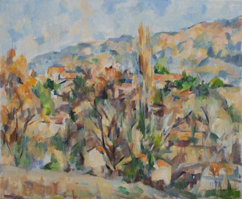 丘の風景(第三段階)_c0236929_2073350.jpg