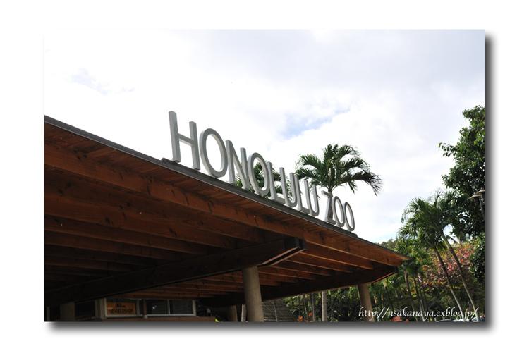 さかなや家族 旅行 in Hawaii 〜 3日目 〜 Honolulu Zoo_d0069838_1018385.jpg