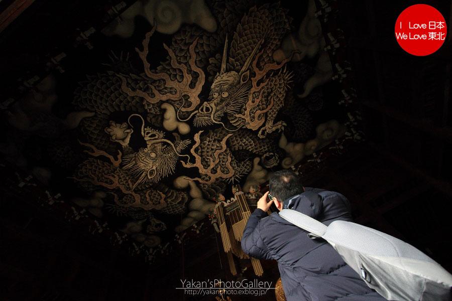 ぶらり途中下車の旅「京の冬の旅」 02 建仁寺[風神雷神図(国宝)、双龍図、鬼瓦]編_b0157849_1437169.jpg
