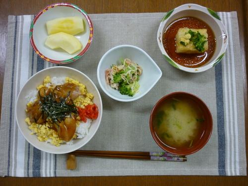 ~焼き鳥丼~_d0195052_16245079.jpg