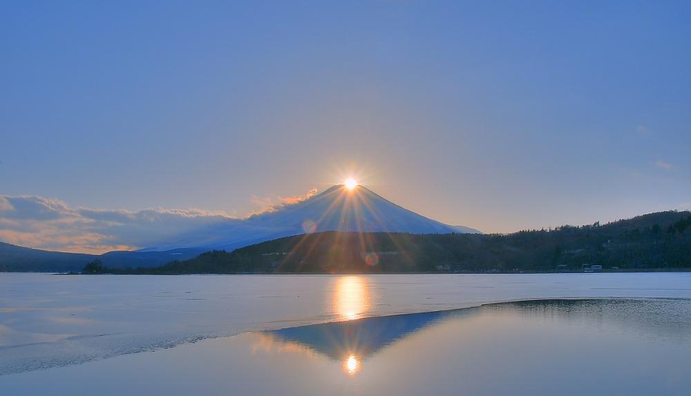 ダイヤモンド富士・山中湖村平野_a0150260_13225959.jpg