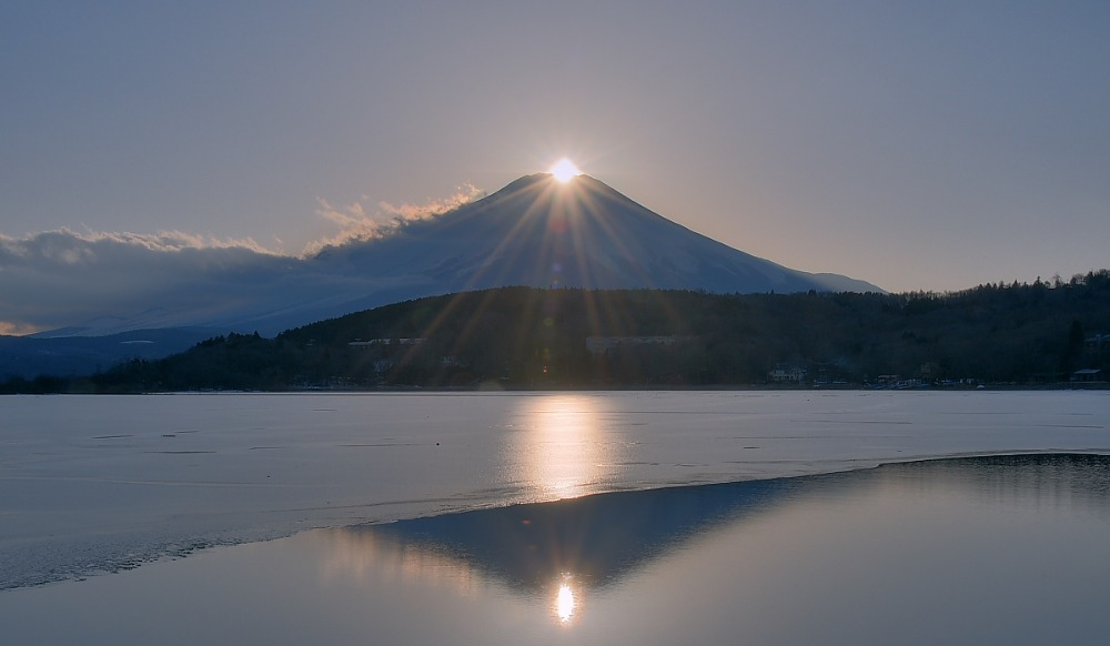 ダイヤモンド富士・山中湖村平野_a0150260_13234468.jpg
