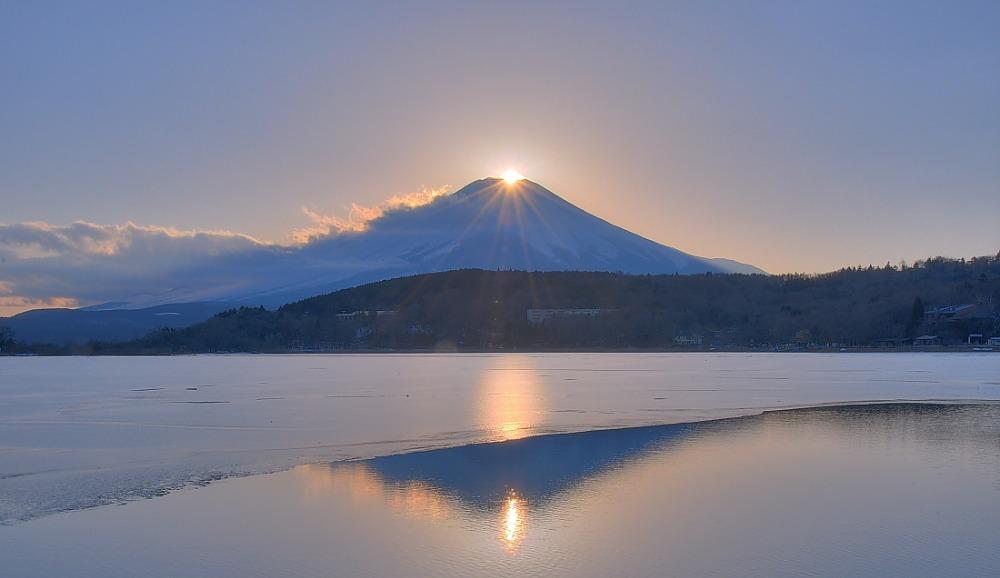 ダイヤモンド富士・山中湖村平野_a0150260_13242794.jpg