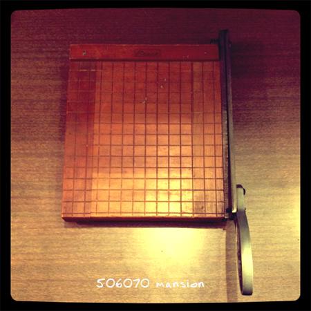 木製 ペーパーカッター 裁断機_e0243096_1264439.jpg