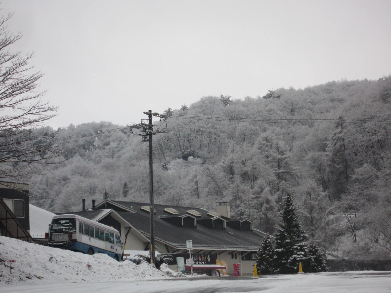 佐久スキーガーデンパラダの雪景色_f0146620_10132756.jpg