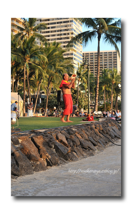 さかなや家族 旅行 in Hawaii 〜 3日目 〜 Kuhio Beach Hula Show_d0069838_1228698.jpg