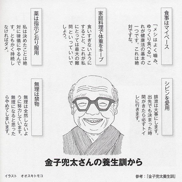 「望星」(東海大学出版会) 2012年3月号で、俳人の金子兜太さんの似顔絵を描きました。_f0134538_8465213.jpg