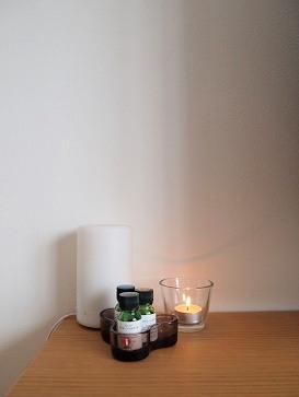 IKEAのキャンドルと時計_e0214646_15553682.jpg