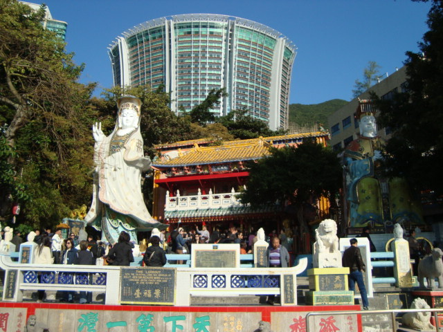 香港へ行く。③ ~奇界遺産「天后廟」~_f0232060_684626.jpg