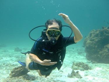 2度目の体験ダイビングは!_f0144385_23474174.jpg