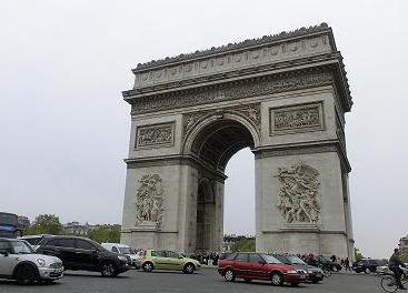 凱旋門 - Paris -_f0072767_21438100.jpg