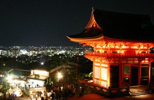 清水寺から見る京都の夜景_b0067283_18564719.jpg